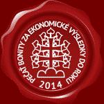 pecat-bonity-eko vysledky-2014